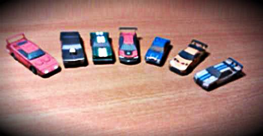 Fast And Furious Paul Walker Set Cars Paper Models In 1 100 Scale By Minimodel Cz Paper Models Car Set Fast And Furious