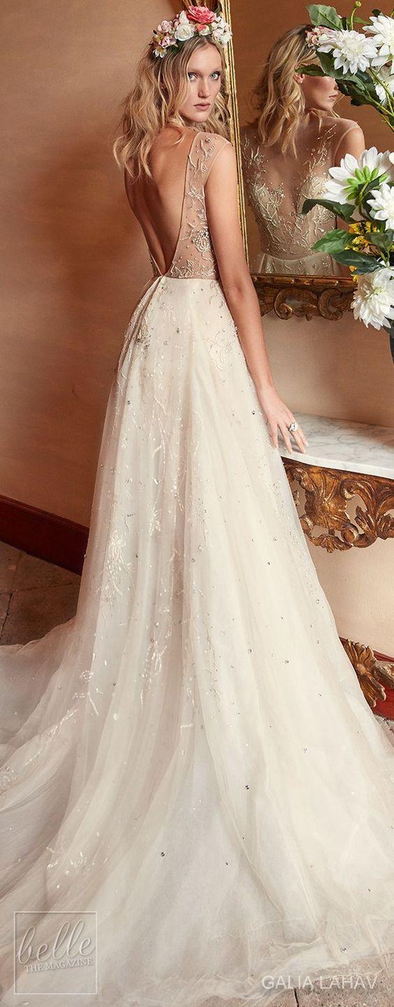 Wedding dress by Galia Lahav Couture Bridal - Fall 2018