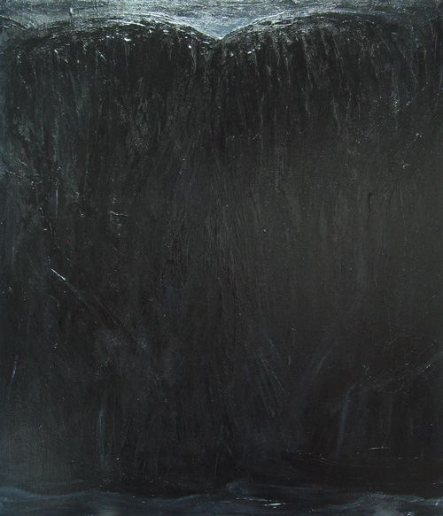 """""""The Black Bluff"""": contemporary black painting"""