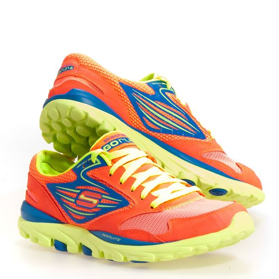 Skechers Go Run Men's Running Shoes: Coral 6.5