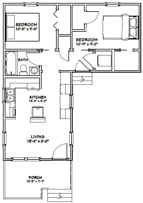 L Shaped House Plans Luxury L Shaped House Plans Kerala Of L Shaped House Plans In 2020 Apartment Floor Plans L Shaped House Plans Tiny House Layout