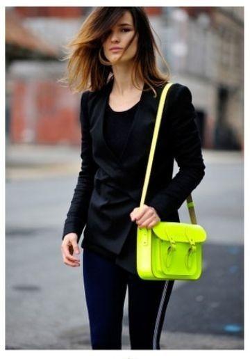 #From cfda.tumblr.com  Black Blazer  #2dayslook # new style fashion #Blazerfashion  www.2dayslook.com