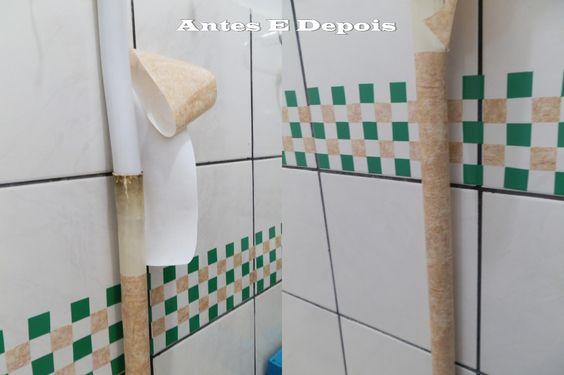 Pastilhas para banheiro feito de papel contact!: