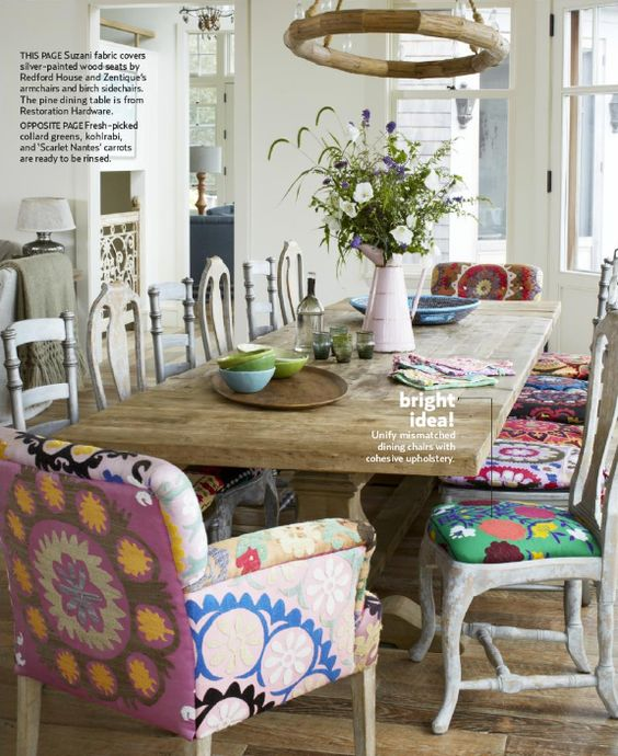 81 inspired ideas for dining room decorating armchairs for Artsy kitchen ideas