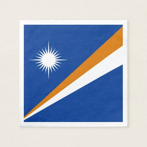 Marshall Islands Flag Paper Napkins Zazzle Com Marshall Islands Flag Erte Art Island