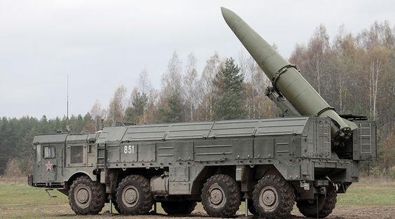 Moscow has been forming a force to counterbalance NATO's massive military buildup along Russia's borders in Europe, which will operate along its western and southern borders, according to Russian Defense Minister Sergey Shoigu. | Picture: Iskander high-precision missile system. © Alexei Danichev