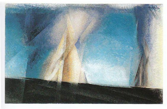 Feininger, Segelpyramide
