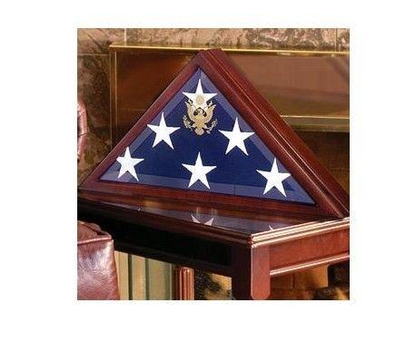 american flag coffin
