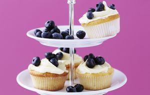 Blaubeer-Cupcake für alle süßen Früchtchen