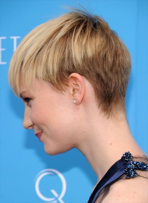 Pixie hairstyles for short hair.