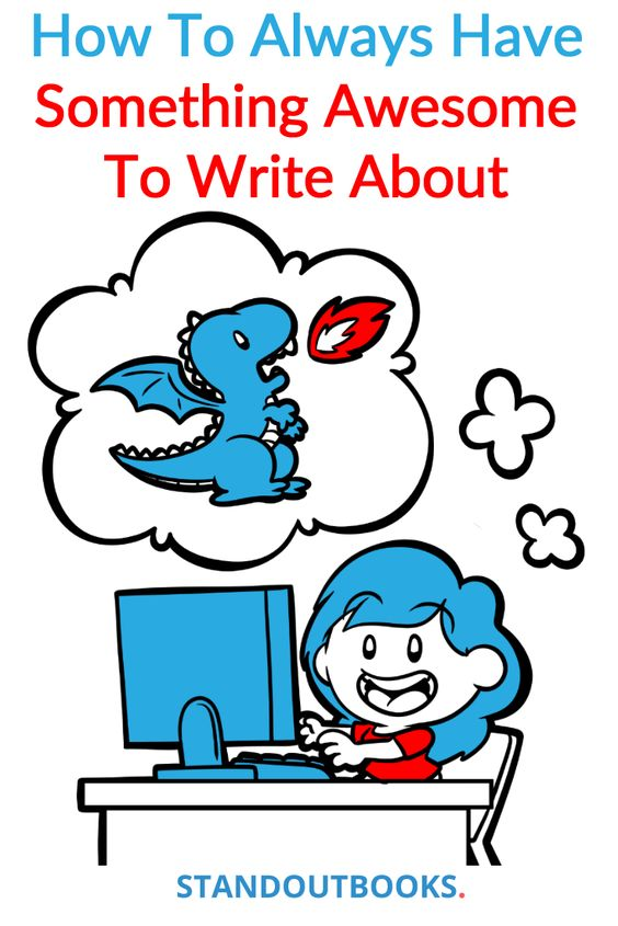 How to write about something