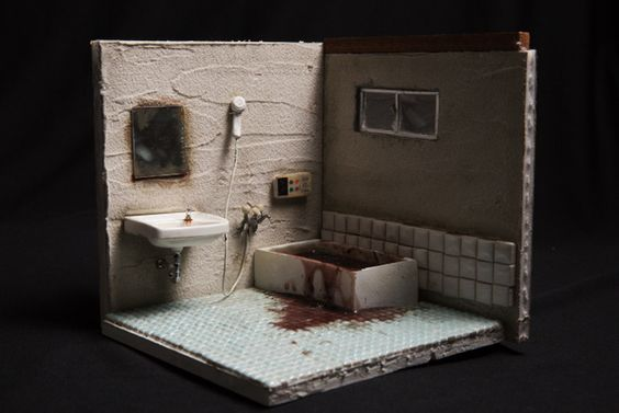 Miyu Kojima Creates Miniature Replicas of Lonely Deaths | Spoon & Tamago