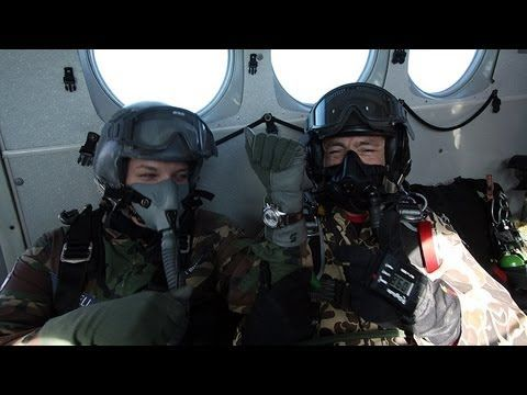 HALO Skydive Out Of 30,000ft - YouTube
