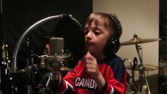 "Montreal Canadiens Playoffs Tristan Sings/Chante ""O Canada"""