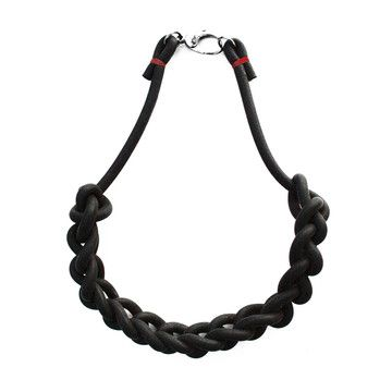 My design inspiration: Rubber Chain Necklace on Fab.