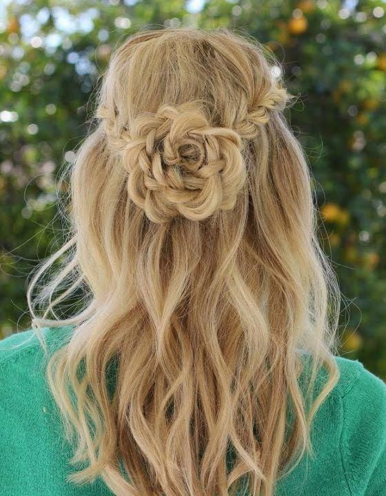 20 Rose Braid Hairstyles You Will Love In 2019 Who Does Not Love Flowers Prepare Yourselves To These Hair Styles Braided Hairstyles Latest Braided Hairstyles