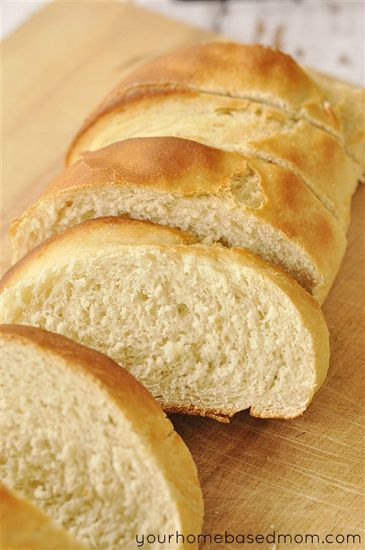 Quick & Easy French Bread  yourhomebasedmom.com
