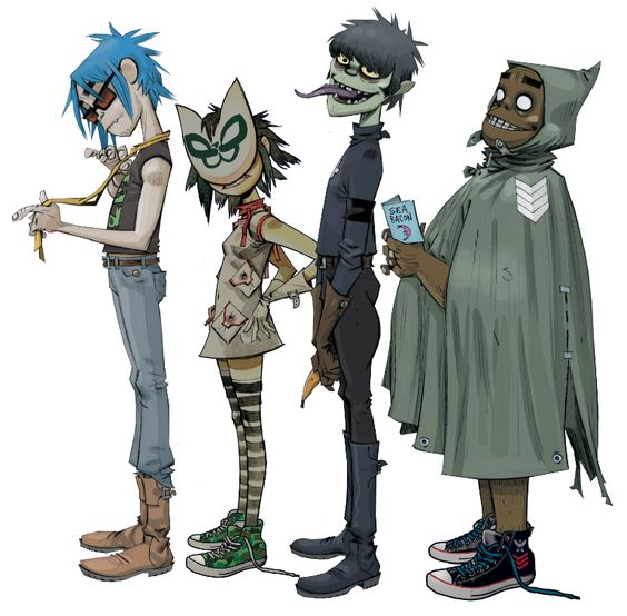 Remember the gorillaz daddy?!
