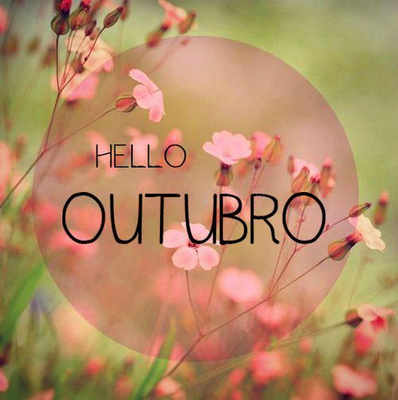 Seja MUITO bem-vindo Outubro! :) #primavera #flores: