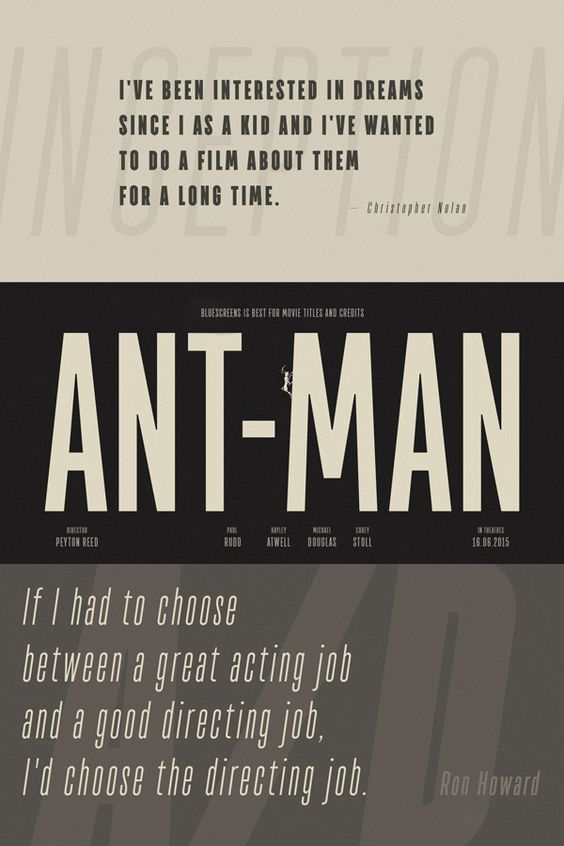Movie title in quotes