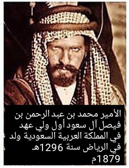 محمد بن عبد الرحمن بن فيصل آل سـعود