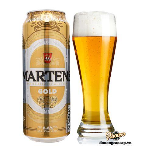 Bia Martens Gold 4.6% - Lon 500ml - Thùng 24 Lon