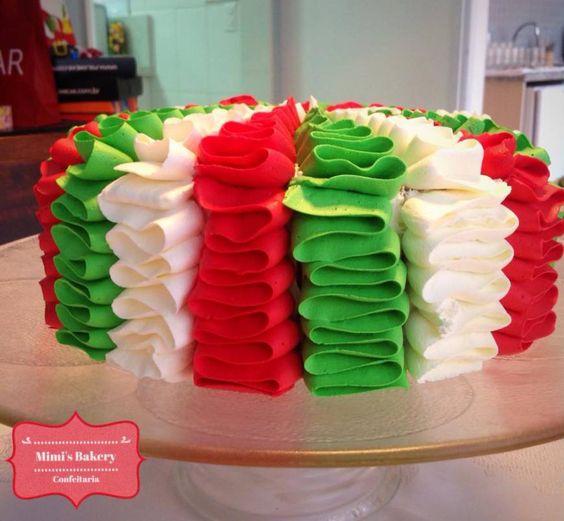 Bolo Natalino de Creme Alpino, Delicia Ninho e Chantininho | Christmas Cake