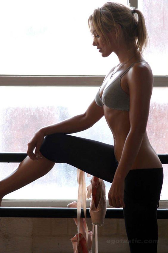 Nicky Whelan. My barre inspiration. Ordered my Physique 57 today...