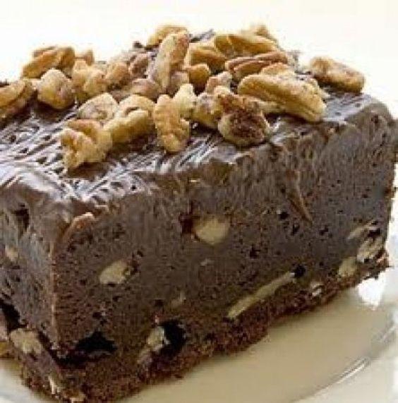 Receta de Bizcocho de chocolate y nueces