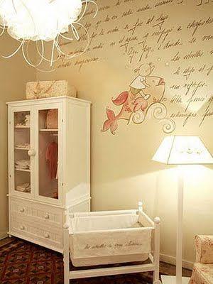 Decoraci n de la casa decorativos murales para cuartos de - Decoracion de habitaciones para ninos ...