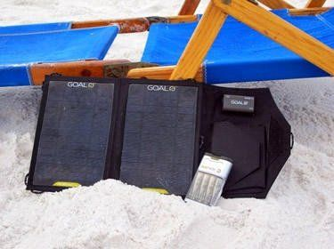 solor power for your kindle, phone, ipad, ipod, and the like also see the medusa for multiple connectors