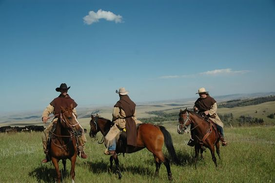 carmelite monks riding herd in wyoming there is a