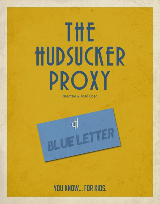 The Hudsucker Proxy Inspired Minimalist Movie by EntropyTradingCo
