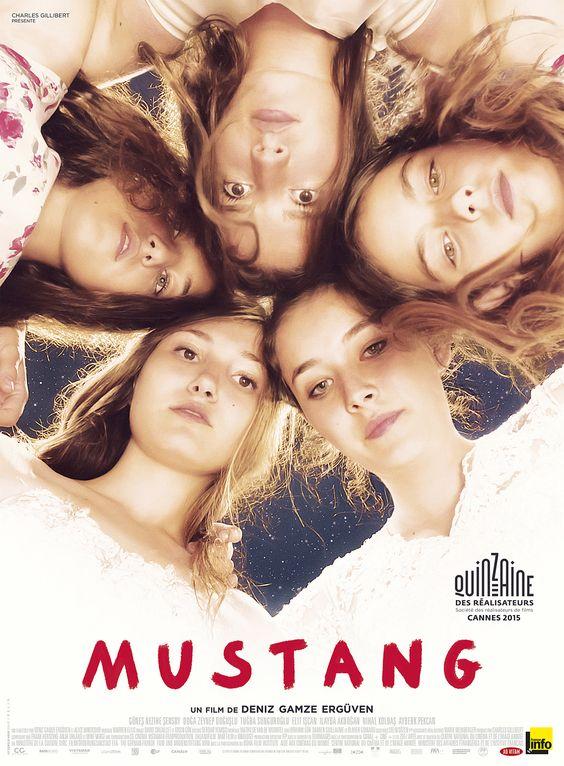 Mustang est un film de Deniz Gamze Ergüven avec Güneş Nezihe Şensoy, Doğa Zeynep Doğuşlu. Synopsis : C'est le début de l'été.Dans un village reculé de Turquie, Lale et ses quatre sœurs rentrent de l'école en jouant avec des garçon