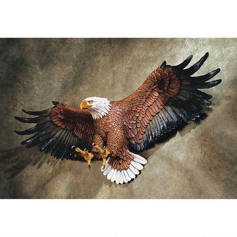 "If God is indeed ""In the details,"" this incredible eagle figurine speaks to the…"