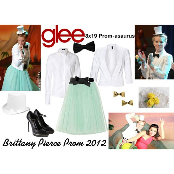 """""""Brittany Pierce (Glee) : Prom 2012"""" by aure26 on Polyvore"""