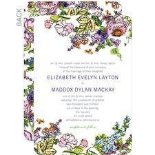 Modern boho wedding invitations from weddingpaperdivas