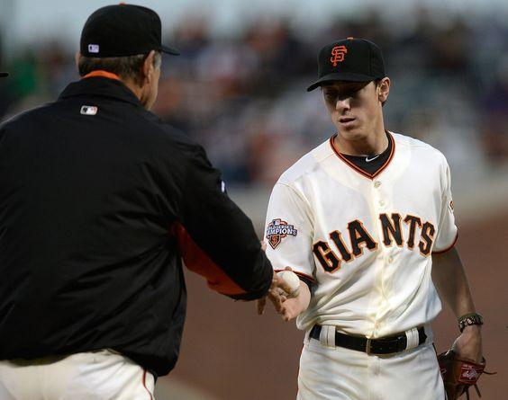 Tim Lincecum Photo - San Diego Padres v San Francisco Giants