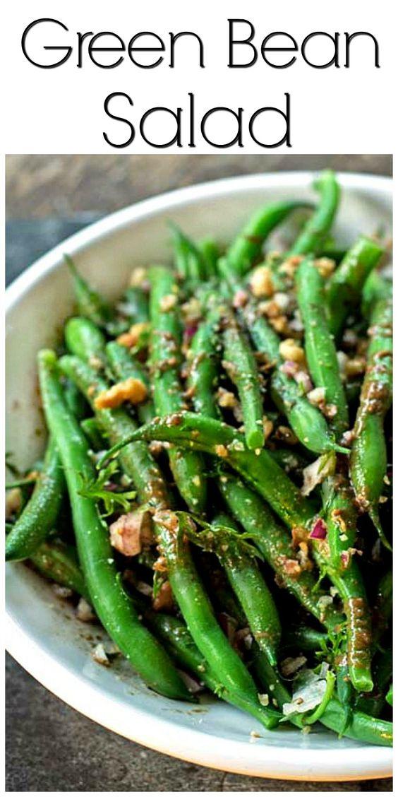 Green bean salads, Fresh green and Bean salads on Pinterest