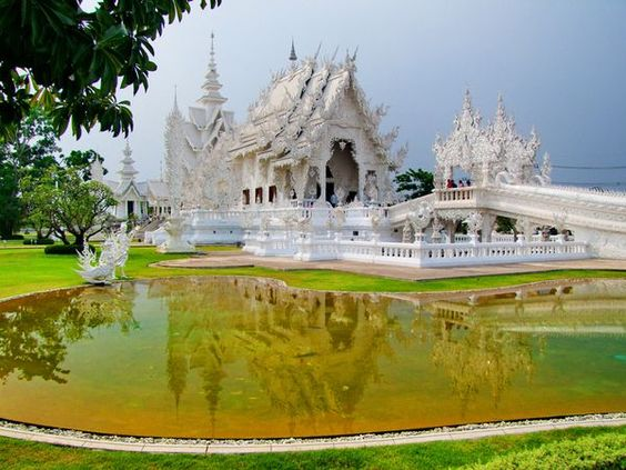 The White Temple in Chiang Rai, Thailand.   Photo by Steve Herrod.