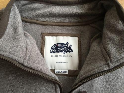 Men's #weird fish #sweatshirt pullover #jumper sz xxl 2x,  View more on the LINK: http://www.zeppy.io/product/gb/2/141987469776/