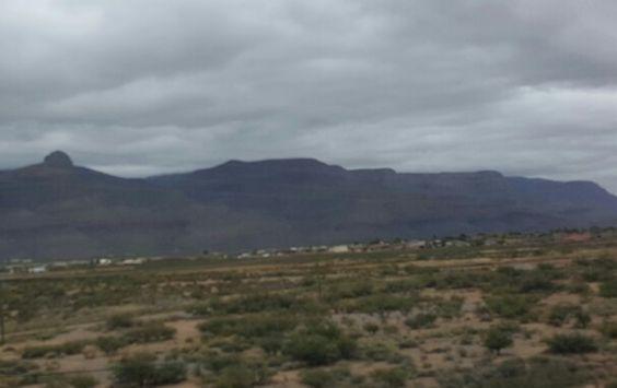 Mountains headed towards Albuquerque, N.M.