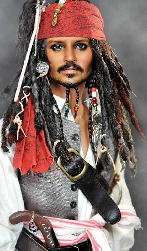 Noel Cruz Creations Johnny Dep - Jack Sparrow