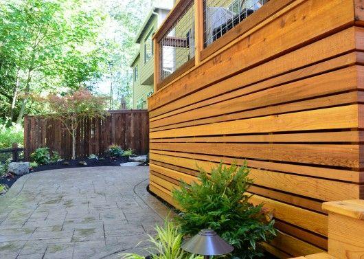 Bothell Deck And Under Deck Storage U0026 Screening | Sublime Garden Design |  Pinterest | Deck Storage, Decking And Screens