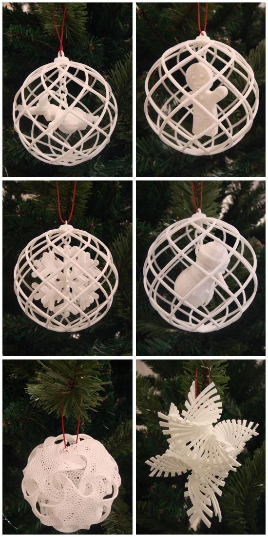 Treat Your Christmas Tree To Some Free 3d Printed Decorations 3d Printing Blog I Materialise 3d Printing Art 3d Printing Diy 3d Printed Objects