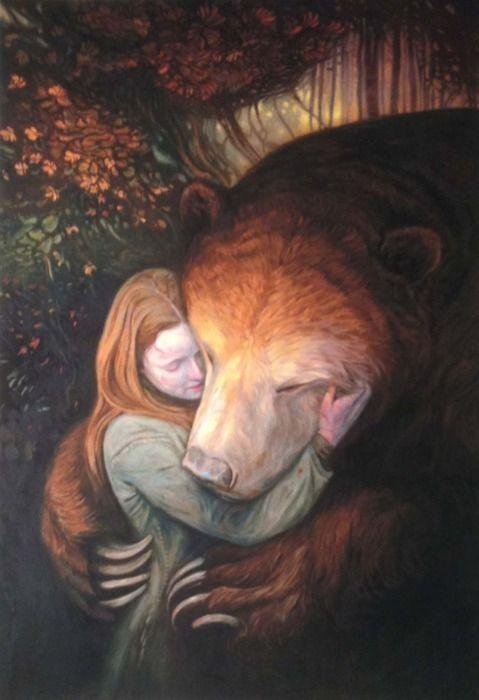 Tender Morsels by Shaun Tan (bear for teddy)