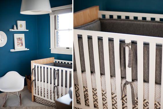sweet nursery for a boy
