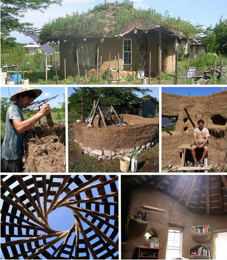 Build your own house and cob houses on pinterest for Cheapest house to build yourself