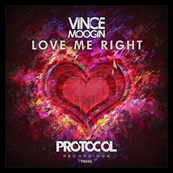 Vince Moogin – Love Me Right (single cover art)