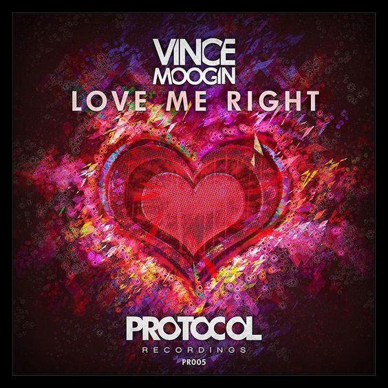 Vince Moogin – Love Me Right (single cover art)
